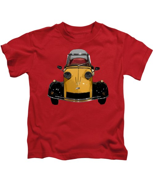 Classic M Motor Art Kids T-Shirt