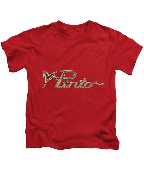 Classic Pinto Emblem Kids T-Shirt