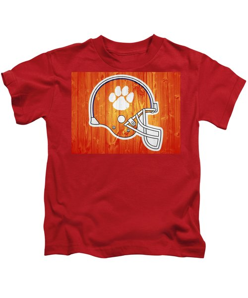 Clemson Barn Door Kids T-Shirt