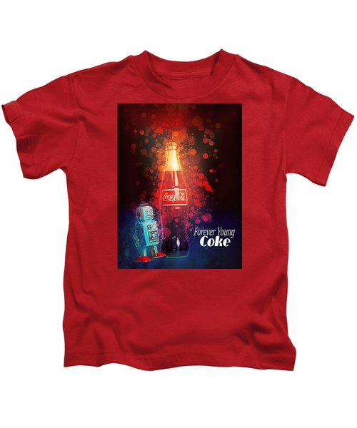 Coca-cola Forever Young 15 Kids T-Shirt