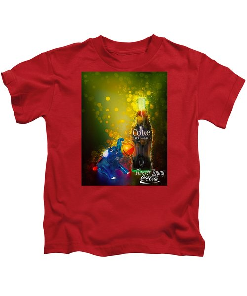 Coca-cola Forever Young 3 Kids T-Shirt