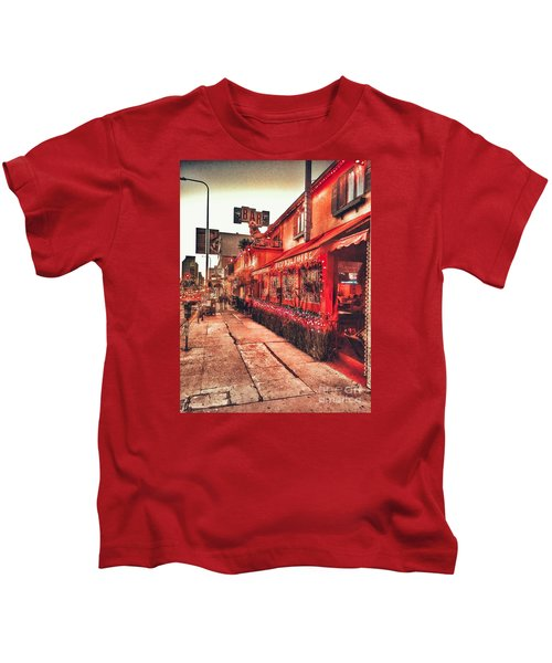 West Los Angeles Cocktail Row Kids T-Shirt