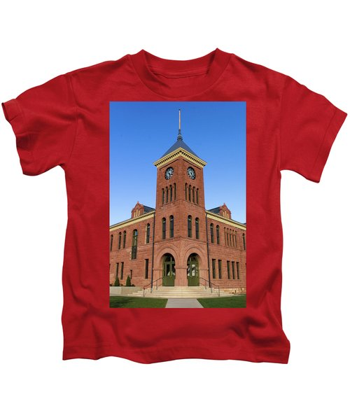 Coconino County Courthouse Kids T-Shirt