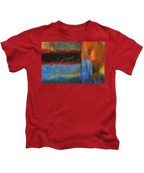 Color Abstraction Li  Kids T-Shirt