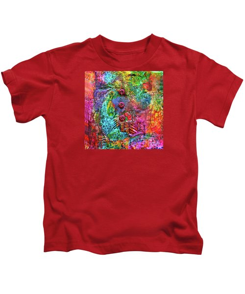 Color With Buttons Kids T-Shirt