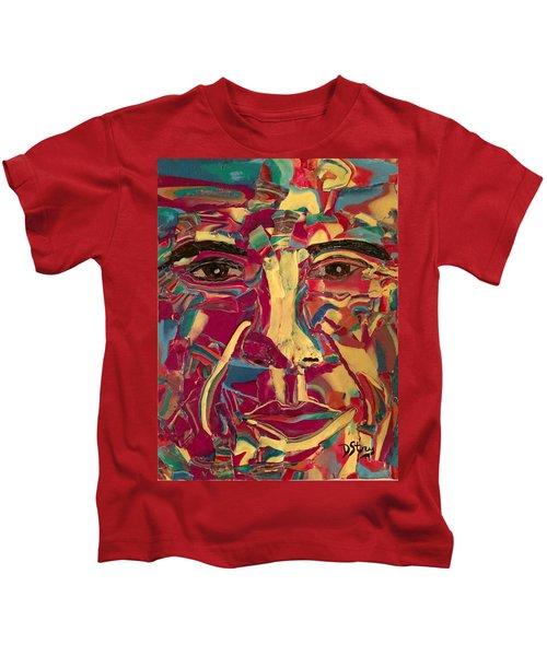 Colored Man Kids T-Shirt