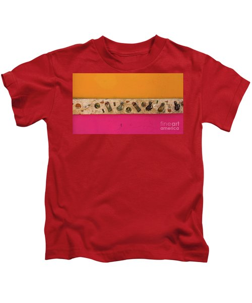 Colorful Mexico  Mexican Art By Kaylyn Franks Kids T-Shirt