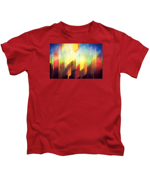 Colorful Urban Design Kids T-Shirt