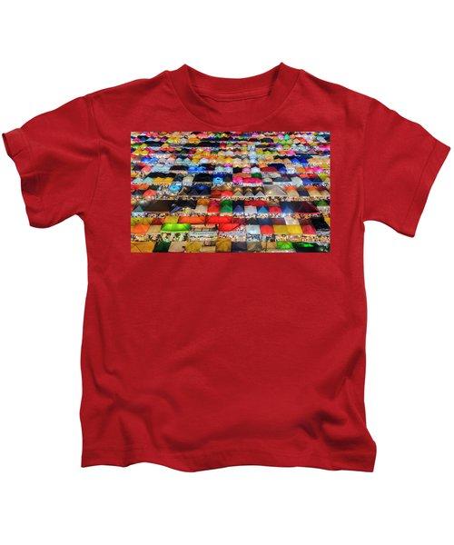 Colourful Night Market Kids T-Shirt