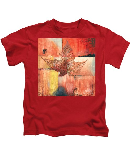 Contemporary Leaf 2 Kids T-Shirt