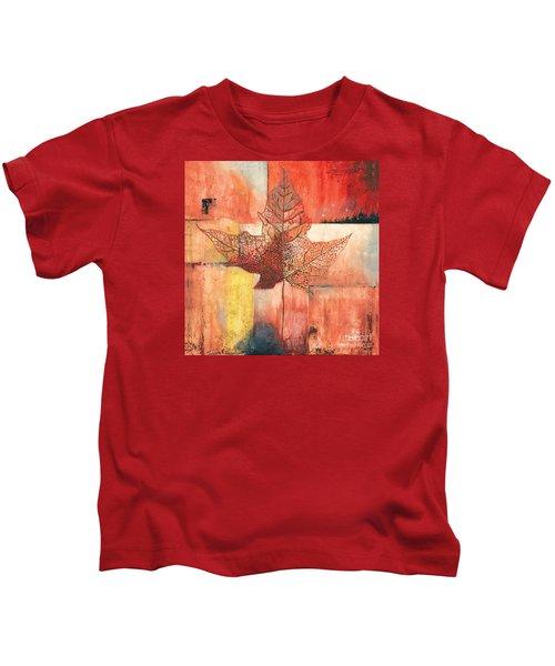 Contemporary Leaf 2 Kids T-Shirt