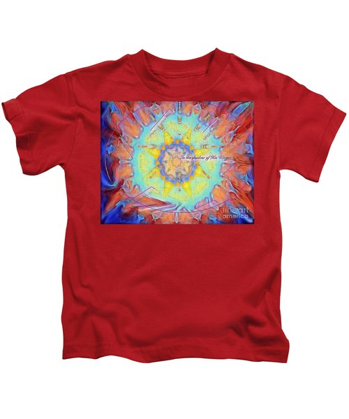 Psalm 17 Kids T-Shirt