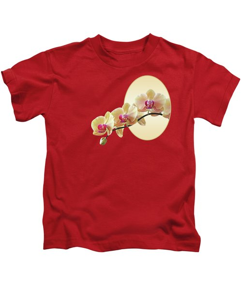 Cream Delight - Square Kids T-Shirt by Gill Billington