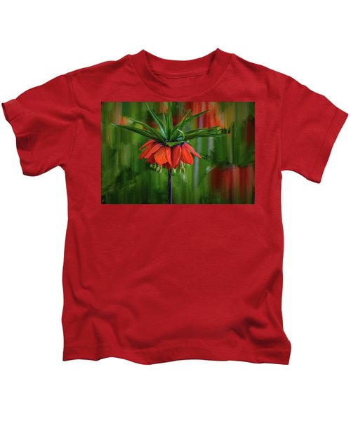 Crown-imperial Abstract #h5 Kids T-Shirt