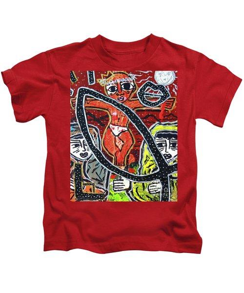 Crucifixion Kids T-Shirt