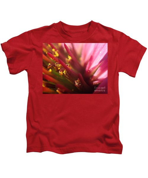 Curly Contrast Kids T-Shirt