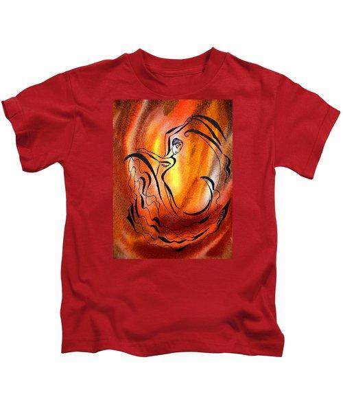 Dancing Fire I Kids T-Shirt