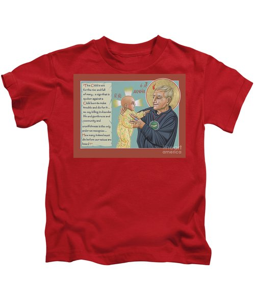 Holy Prophet Daniel Berrigan 291  Kids T-Shirt