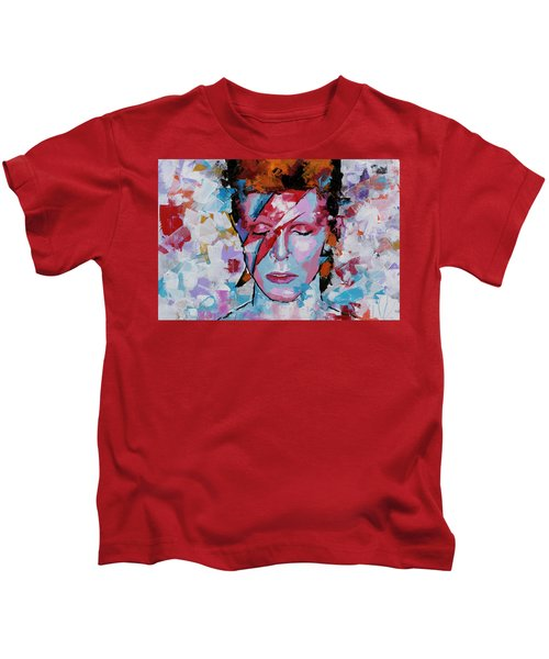 David Bowie Aladdin Sane Kids T-Shirt
