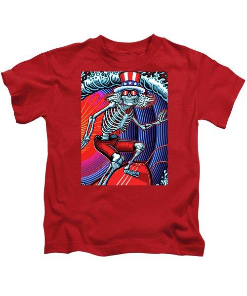 Deadhead Surfer Kids T-Shirt