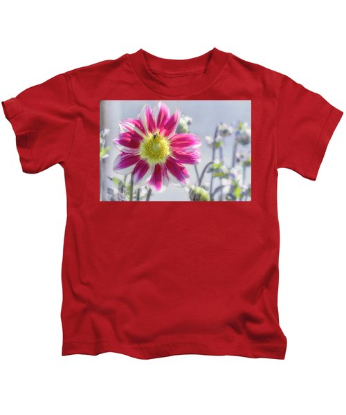 Delicious Dahlia Kids T-Shirt