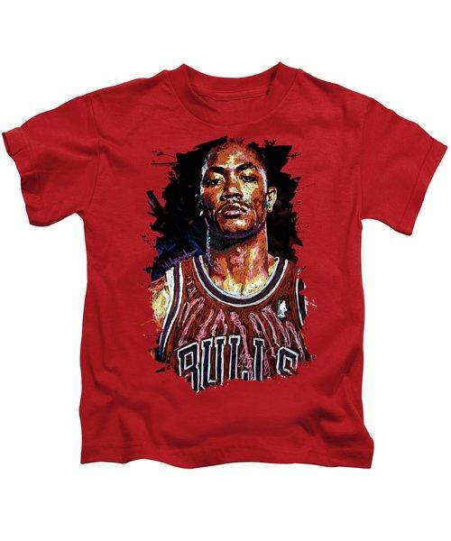 Derrick Rose-2 Kids T-Shirt
