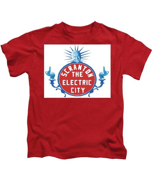 Diamond Joe Kids T-Shirt by Michael Coolbaugh