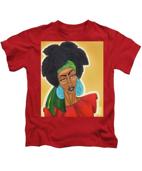 Diced Pineapples Kids T-Shirt