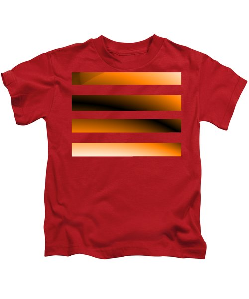 Digital Line Art Kids T-Shirt