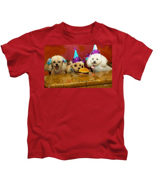 Dog Party Kids T-Shirt