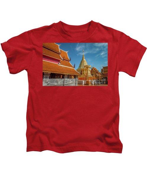 Doi Suthep Temple Kids T-Shirt