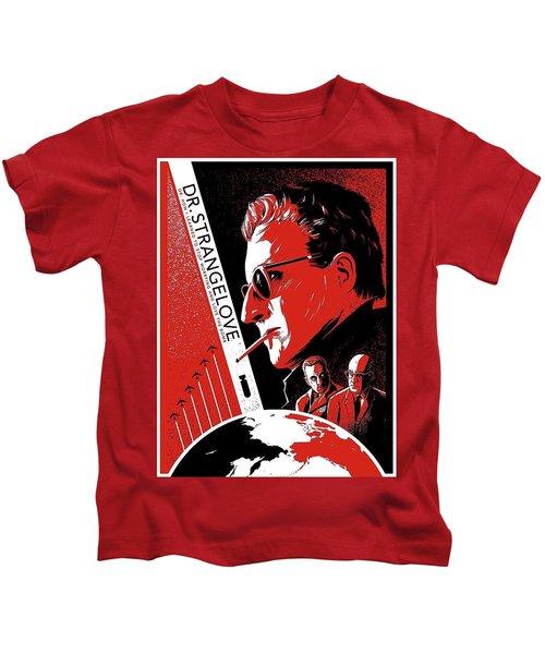 Dr. Strangelove Theatrical Poster Number Three 1964 Kids T-Shirt