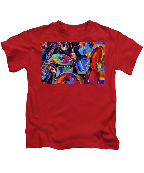 Drums And Friends Kids T-Shirt