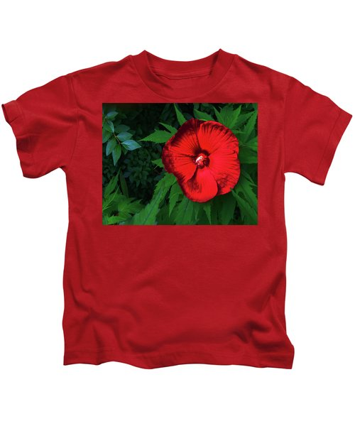 Dynamic Red Kids T-Shirt