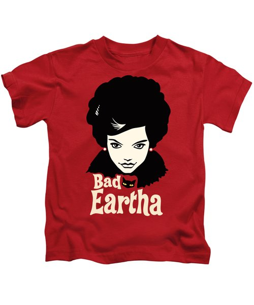 Eartha Kitt - That Bad Eartha Retro Poster Kids T-Shirt