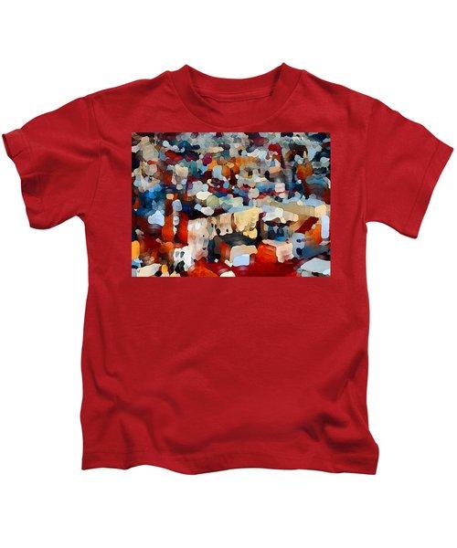 Echoes Of Civilization  Kids T-Shirt