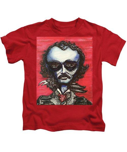 Edgar Alien Poe Kids T-Shirt