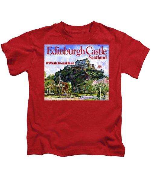 Edinburgh Castle Kids T-Shirt
