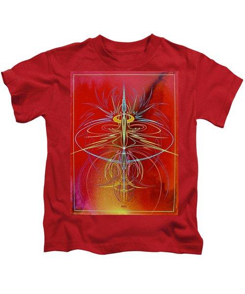 Elijah's Whirl Wind  Kids T-Shirt