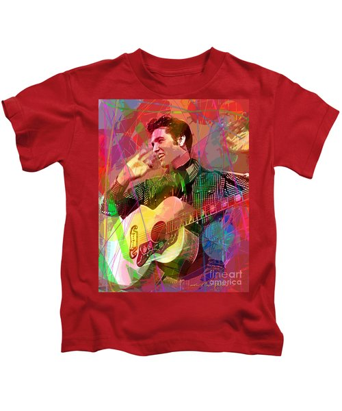 Elvis Rockabilly  Kids T-Shirt
