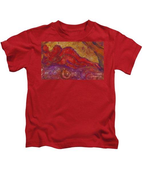 Embrace Divine Love Series No. 1230 Kids T-Shirt