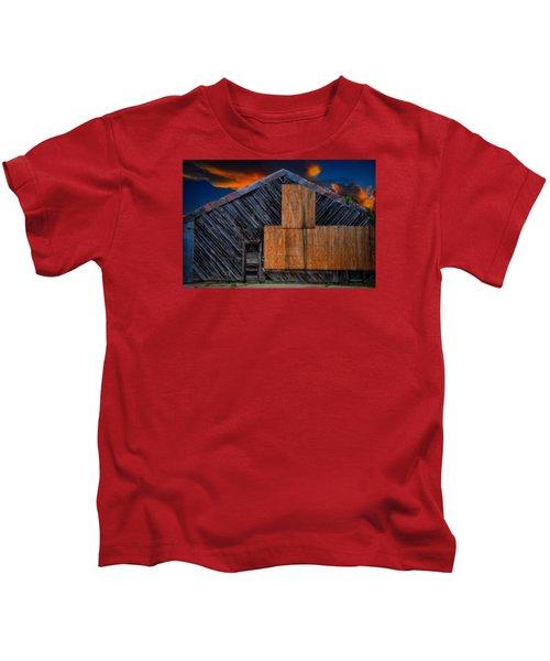 Empty Barn Kids T-Shirt