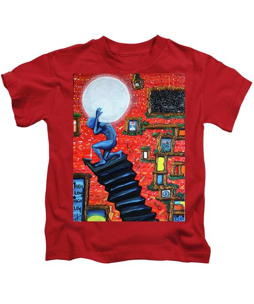 Energy Flow, The Active Space And The Effects Of The Rising Moon Kids T-Shirt