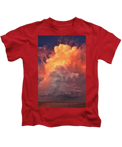 Epic Storm Clouds Kids T-Shirt