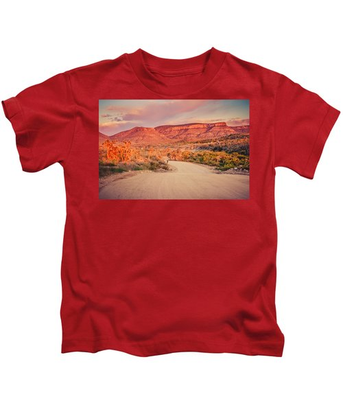 Eruptions On The Sun Kids T-Shirt