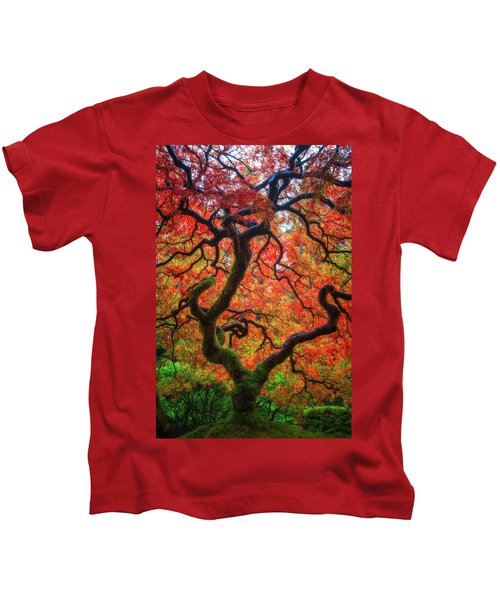Ethereal Tree Alive Kids T-Shirt