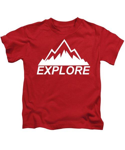Explore Mountain Kids T-Shirt