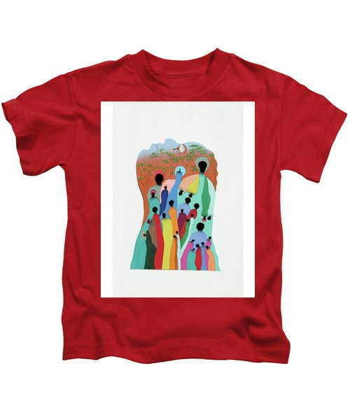 Eye Of The Spirit Kids T-Shirt