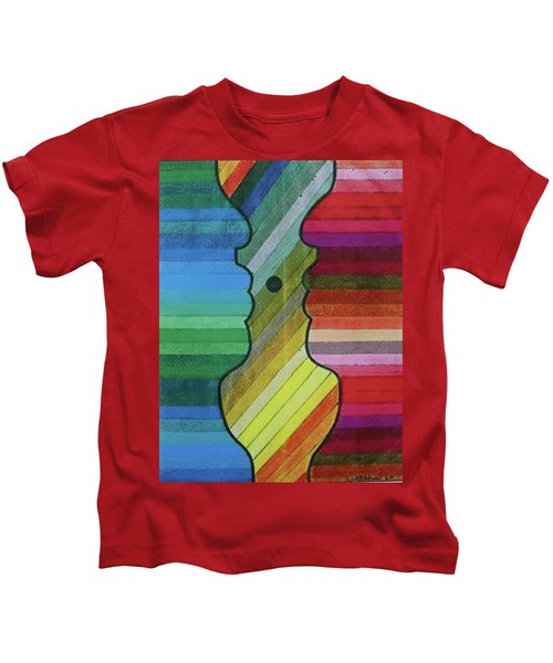 Faces Of Pride Kids T-Shirt