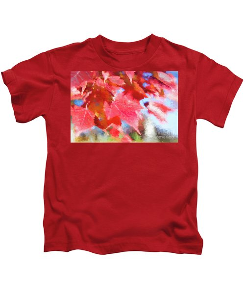 Fall Colors Kids T-Shirt